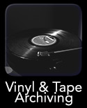 Vinyl & Tape Archiving